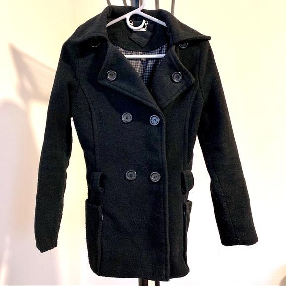 Essential staple pea coat